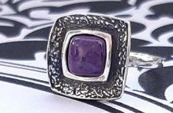 112 pierścionek vintage, srebrny pierścionek,