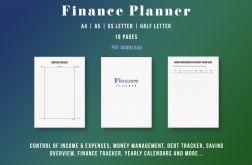 Kalendarz z planerem finansowym PDF