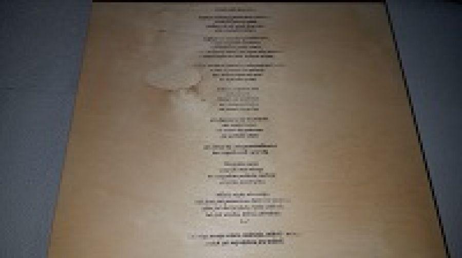 skrzynka na ślub - wiersz