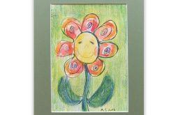 Szczęśliwy kwiatuszek nr 1 - ilustracja