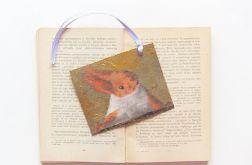 Zakładka do książki z wiewiórką - nr 2
