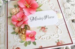 Ślubna kartka w pudełku 43