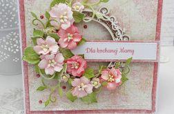 Kochanej Mamie - kartka w pudełku