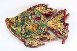 Ryba ceramiczna, kolorowa