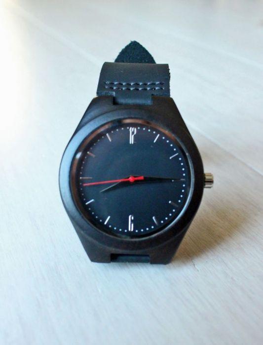 Drewniany zegarek ROLLER