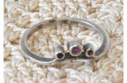 55 pierścionek vintage z rubinami ?
