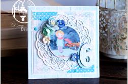 Kartka dla dziecka 6 URODZINY