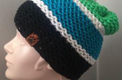 MyBoshi kolorowa czapka typu beanie
