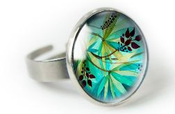 Jungle pierścionek z ilustracją