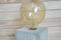 Betonowa lampka
