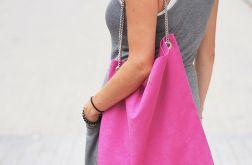 Torba worek Mili Chic MC5 - pink