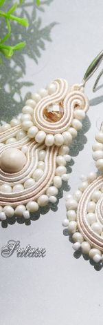 Agat marmurkowy-SUTASZ  KOLCZYKI -ślubne