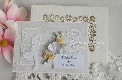 Ślubna kartka A5 w pudełku z okienkiem 14