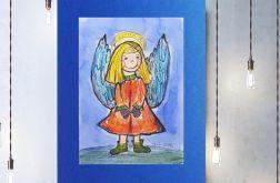 Aniołek obrazek do dziecięcego pokoju nr 6