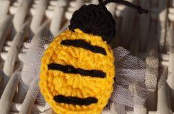 Pszczółka spinka  do włosów