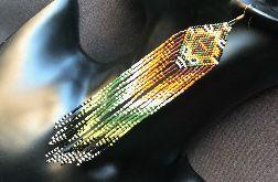 Ute - kolczyki w stylu indiańskim