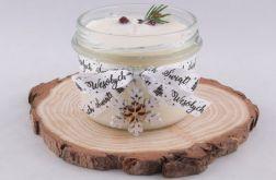 Zapachowa świeca sojowa ŚWIĄTECZNY PORANEK M