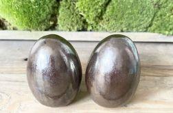 Jajko ceramiczne złoty brąż