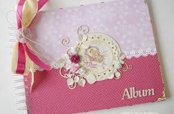 Album różowy dla dziewczynki 20x25 cm