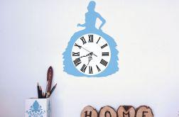 Zegar Ścienny Dama Kobieta Retro
