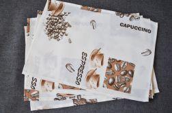 4 podkładki pod talerze - kawa