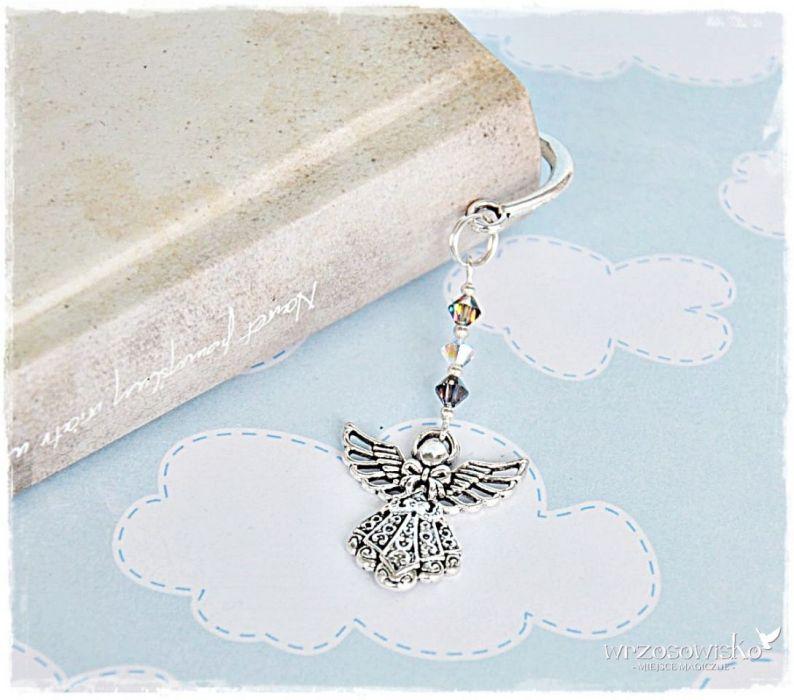 Anioł z kryształami - Pamiątka Komunii