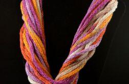 Makarony, zamotki -  jesienny liść