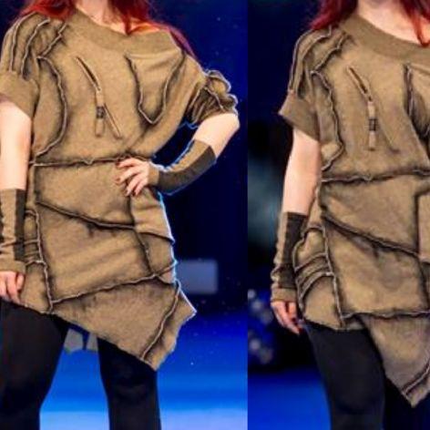 Bluza asymetryczna