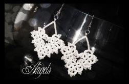 Kolczyki koronkowe - Angels