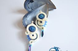Blue moon - kolczyki sutasz