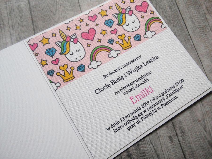 Zaproszenie Na Urodziny Dla Dziewczynki Sweetpaperpl