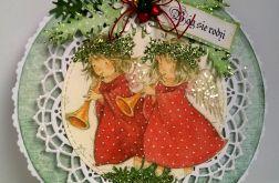 Boże Narodzenie kartka - bombka