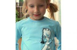 Dziewczęca koszulka z księżniczką