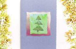 Kartka świąteczna minimalizm nr 14