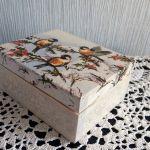 Kasetka z ptaszkami -