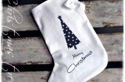 WHITE CHRISTMAS skarpeta- cottage home vintage & retro