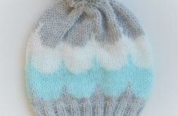 Knitting Colorful Hats- Fresh Mint