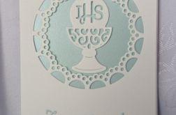 Zaproszenie I Komunia wzór 143