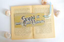 Zakładka do książki z kotem- nr 2