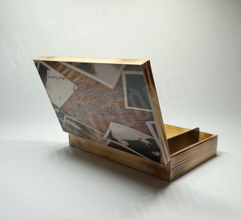 Pudełko prostokątne na zdjęcia i pendrive'a