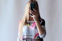 Sweter letni oversize 012