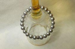 150. Bransoleta z pereł szklanych 8mm