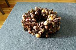 wianek stroik dekoracyjny ozdobny 20 cm