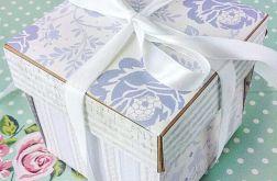 Pudełko exploding box z życzeniami