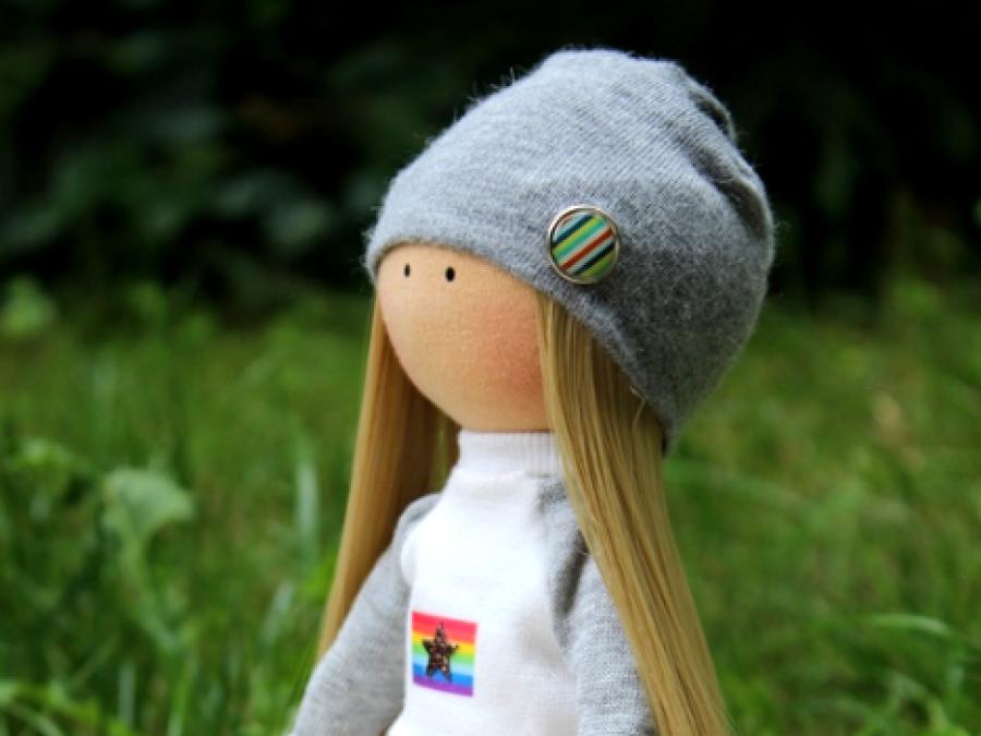 Lalka handmade, ręcznie robiona lalka