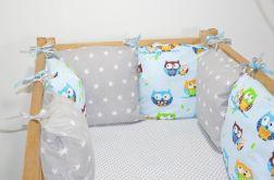 Modułowy ochraniacz do łóżeczka 6 szt N9