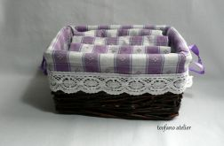 Ręczniki zestaw fioletowy
