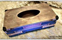 Chustecznik listewki drewniane