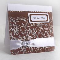 Kartka ślubna z klamerką