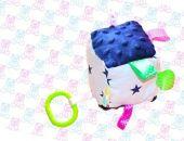 Kostka sensoryczna MINKY zabawka gwiazdki